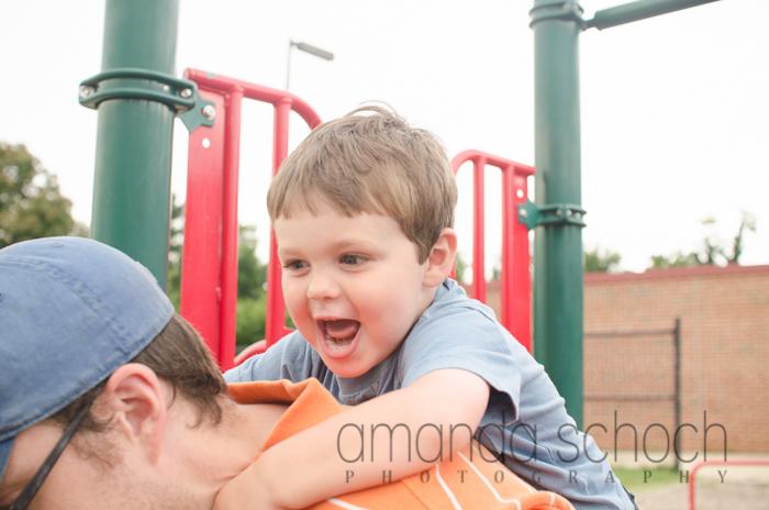 kids on bikes in a park summer-11