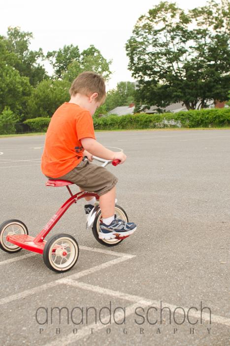 kids on bikes in a park summer-14