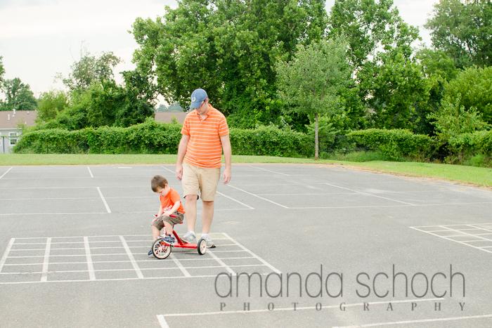 kids on bikes in a park summer-2